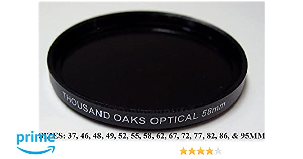 .com : threaded black polymer solar filter for cameras, 52mm ...
