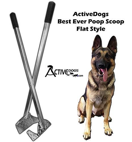 Activedogs The Best Ever Dog Poop Scooper (Flat...
