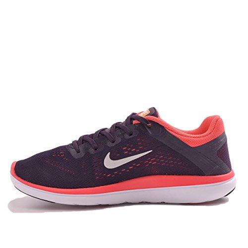 Nike 834281-502, Zapatillas de Trail Running para Niñas Morado (Purple Dynasty / Metallic Silver)