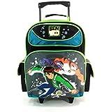 """16"""" Ben 10 Large Rolling Backpack-tote-bag-school"""