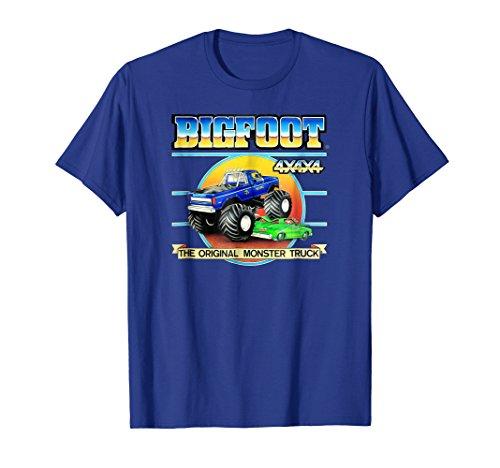 - Retro BIGFOOT 4x4x4 The Original Monster Truck T-Shirt