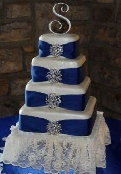 Set of 4 Tier Square Multilayer Birthday Wedding Anniversary Cake Tins/Pans/Mold (Mould) by Hufsy by Protins (Image #3)
