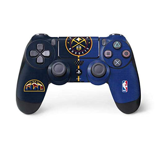 Skinit Denver Nuggets Canvas PS4 Controller Skin - Officially Licensed NBA Gaming Decal - Ultra Thin, Lightweight Vinyl Decal Protection