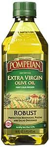 Pompeian Robust Extra Virgin Olive Oil, 16 Ounces