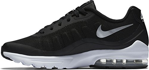 Cheap NIKE Women's Air Max Invigor Running Shoe Black/Metallic Silver-White 7.5