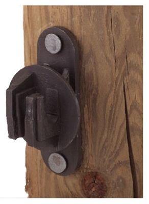 DARE PRODUCTS SNUG-HTN 831960 Wood Post Insulator (25 Pack), Black