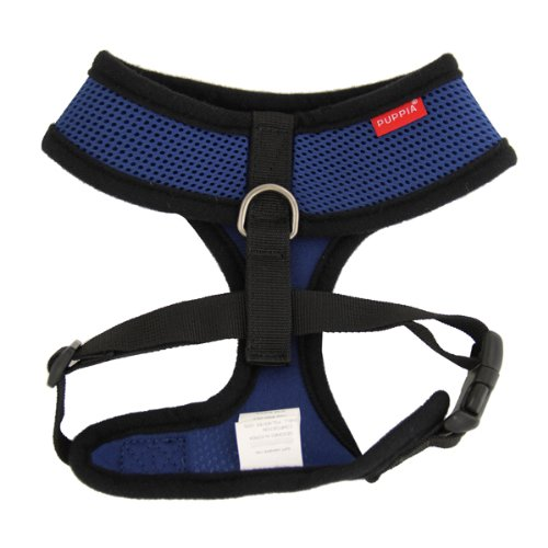 Puppia Soft Mesh Dog Harness Royal bluee XXL
