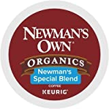 Newman's Own Organics Keurig Single-Serve K-Cup Pods Newman's Special Blend Medium Roast Coffee, 72 Count (6 Boxes of 12 Pods)