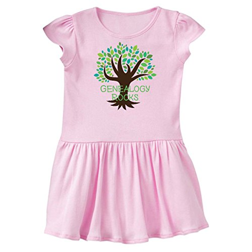 Historians Rock (inktastic Genealogy Rocks Infant Dress 24 Months Pink 1ff59)