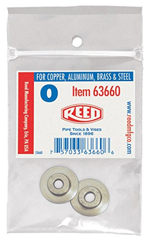 Reed 2PK-30-40 Replacement Cutter Wheels, Metal, (Reed Pipe Cutter)