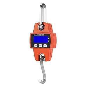 Mini Portable Crane Scale 300kg 0.1kg LCD Digital Electronic Hook Hanging Scale
