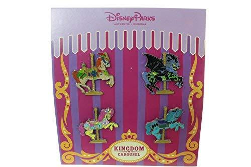 - Disney Kingdom Carousel Booster 4 Pin Set