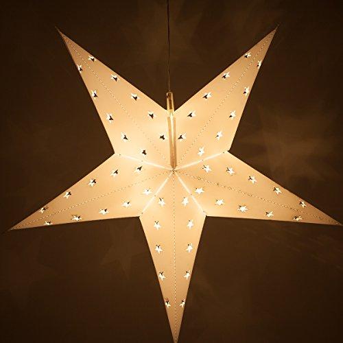 Star Lanterns With Led Lights - 9