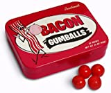 MEAT MANIAC Exotic Candy Combo Gift Pack with sticker- Bacon Gumballs & Gravy Candy