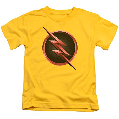 Flash Kid Flash Unisex Youth Juvenile T-Shirt for Girls and Boys Yellow (Flash Shirts For Girls)