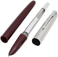 HERO 616 Fountain Pen Hooded Golden Nib Dark Red Barrel Small FP