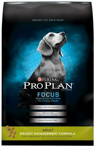 Purina Pro Plan Focus Weight Management Formula Adult Dry Dog Food - 6 Lb. Bag
