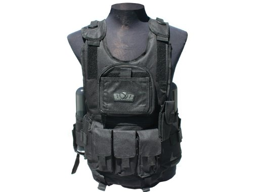 Gen-X Global Tactical Vest (BLACK) G-26 (Round Gen 140 Tube X)