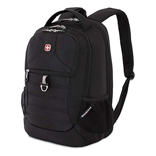 (SWISSGEAR Large, Padded, ScanSmart 15-inch Laptop Backpack | TSA-Friendly Carry-on | Travel, Work, School | Men's and Women's - Black)