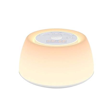 Mobestech 2.5W luces de noche de colores LED Atmósfera Lámpara de cabecera Función de boquilla