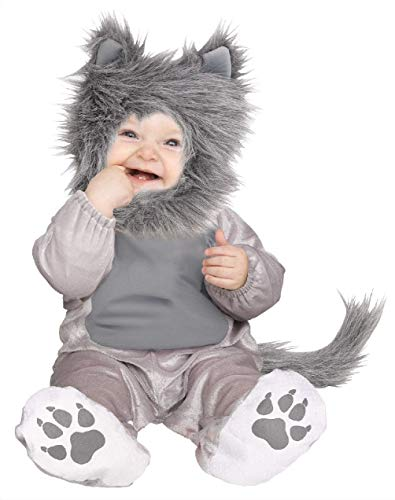 Infant Toddler Fuzzy Lil' Wolf Cub Baby ()