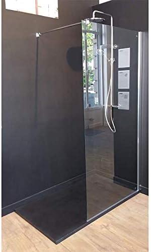Mampara de ducha fija Single cristal 8 mm 70 x 200: Amazon.es: Bricolaje y herramientas