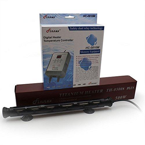 Finnex Digital Heater Controller with Deluxe 500-watt Titanium Tube