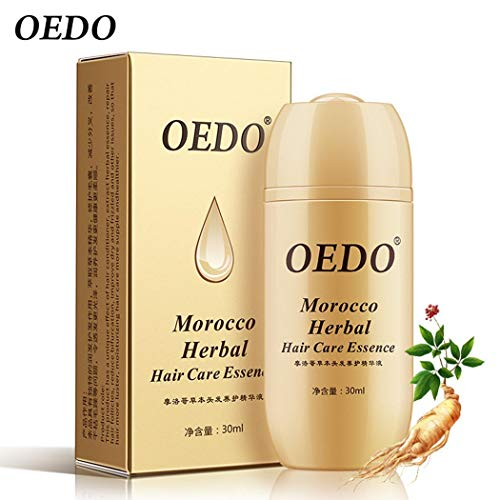 1 piece Hair Care Smoothing Hair Growth Serum Unisex Smear Hair 30ml All Types Care Essence ()