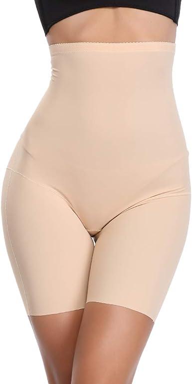 Women/'s Tummy Control High Waisted Body Shaper Shorts Slimming Panties Shapewear