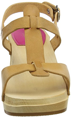 Women's Greek Clog Sandal Nature hasbeens swedish EFx15n