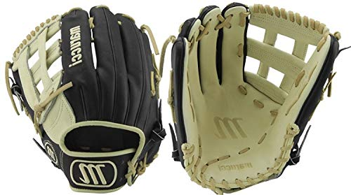 Marucci MFGFS1275H-BK/CM-LH Founders' Series Baseball Fielding Gloves, Camel/Black, 12.75