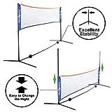ZENY Portable Badminton Net Set for Soccer