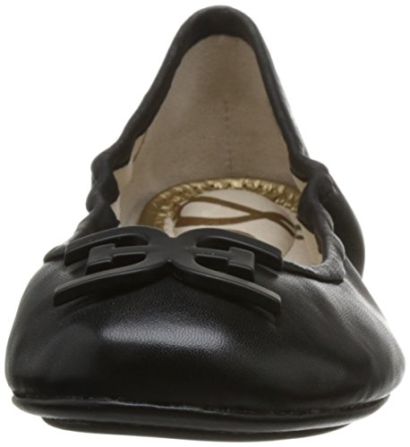 Sam Leather Edelman Black Ballet Florence Flat Women's dOOwRBxnY