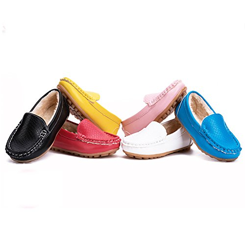 Kids Slip-On Loafers Oxford Dress PU Shoes For Boys & Girls (Toddler/Little Kid)