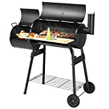 Best Charcoal Grills Smokers - Giantex BBQ Grill Charcoal Barbecue Grill Outdoor Pit Review