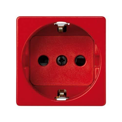 27432-68 base enchufe 2p+tt schuko s-27 rojo Ref Simon 6552765059