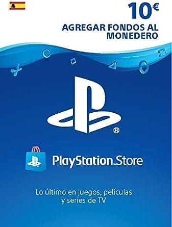 Sony, PlayStation - Tarjeta Prepago PSN 10€ | PS5/PS4/