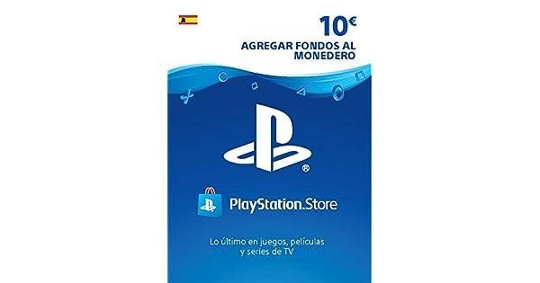 TARJETA PSN CARD 10€ | Código de descarga PSN - Cuenta española ...