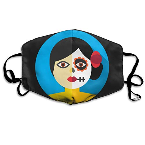 SDQQ6 Makeup Mouth Mask Unisex Printed Fashion Face Mask Anti-dust Masks]()