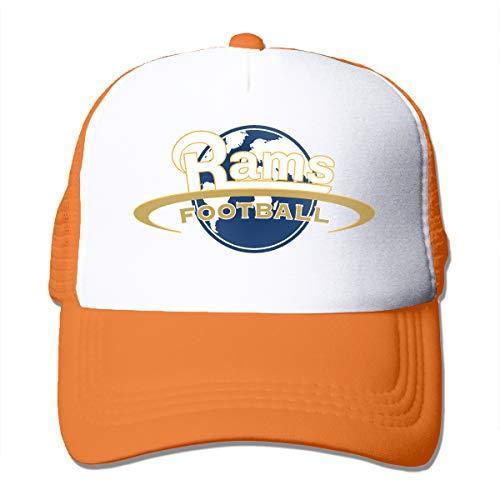 Unisex Los Angeles Universal Studios Football Trucker Cap Suitable for Indoor or Outdoor Activities Orange ()