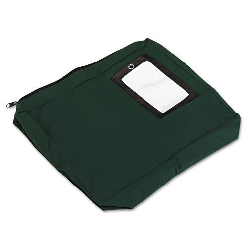 PM Company : Expandable Dark Green Transit Sack, 14w x11h x3d -:- Sold as 2 Packs of - 1 - / - Total of 2 Each