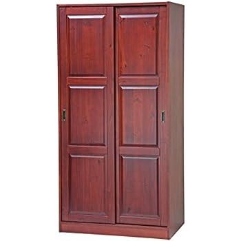 Amazoncom Ikea 80222281 Wardrobe 47 14x74 34 White Kitchen