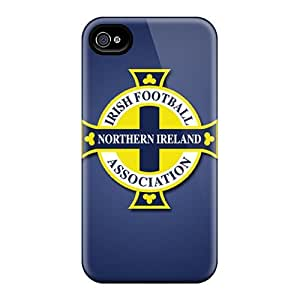 iPhone 6 plus 5.5 Case Bumper Tpu Skin Cover For Northern Ireland Football Logo Accessories