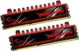 G.Skill 8GB 2x4GB Ripjaws DDR3 PC3-10666 1333MHz Desktop Memory Model F3-10666CL9D-8GBRL
