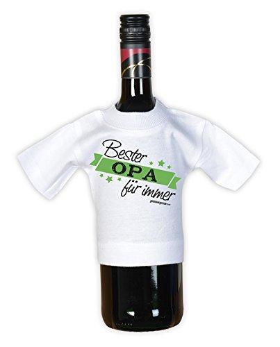 T-Shirt - Bester Opa - Repariert Alles - Ist ein Held Weiß - lustiges Sprüche Shirt für Opas mit Humor - Geschenk Set zum Vatertag