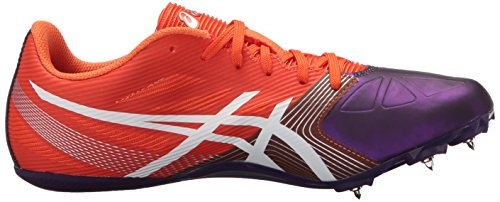 Asics Donna Hyper-rocketgirl Sp 6 Scarpa Cross Country Arancione / Bianco / Viola Scuro