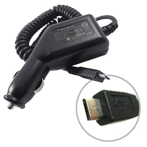 Official BlackBerry Car Charger Vehicle Charger for BlackBerry Bold 9900 9930 (Bold Accessories Blackberry Chargers)