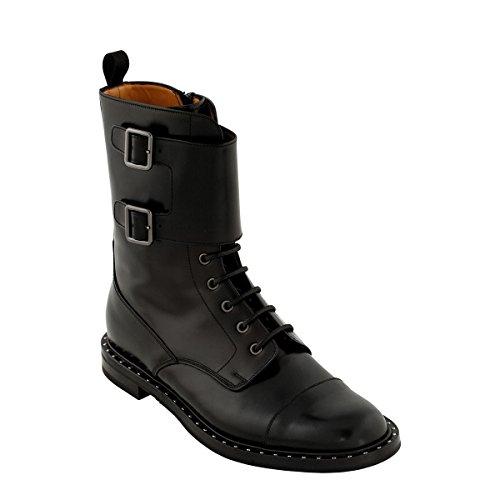 Church's Women's DU00039SNAAB Black Leather Ankle Boots EIRXOGa