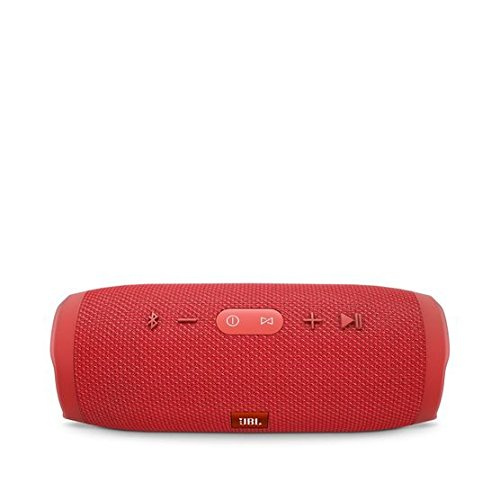 JBL Charge 3 - Waterproof Portable Bluetooth Speaker (Red) ()