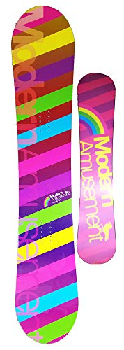 Modern Amusement 144cm Palm Camber Snowboard az20 ()